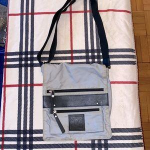 Chanel sport unisex canvas leather crossbody bag